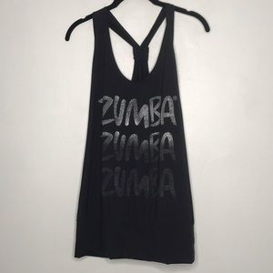 Zumba Fitness Racerback Workout Tank Top Large